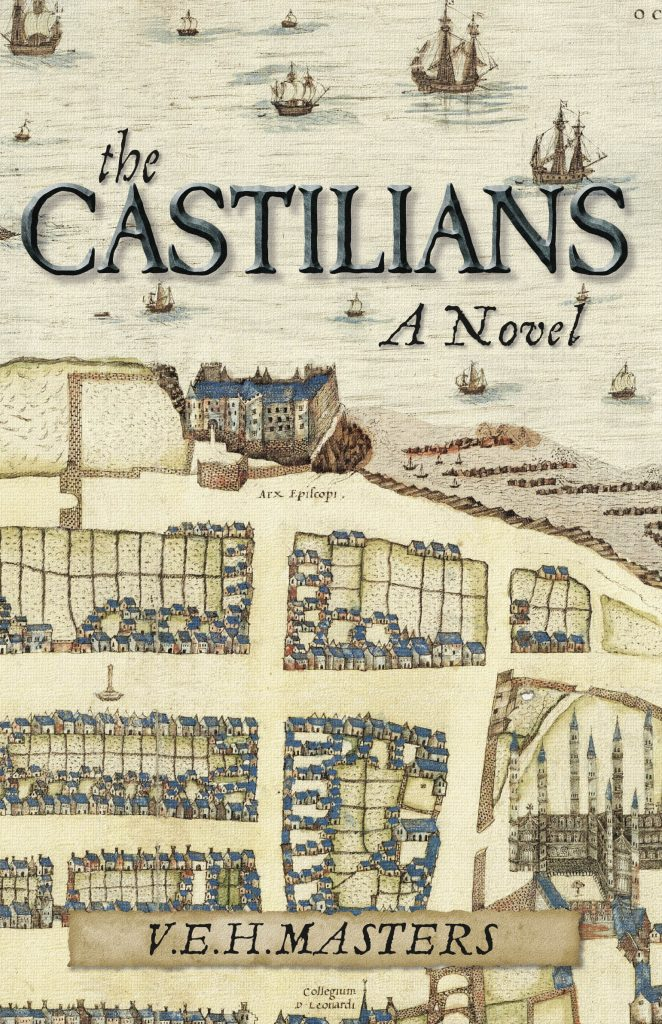 Picture of the book cover showing Geddy map of St. Andrews
